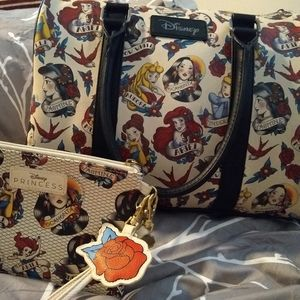 Disney Loungefly Princess Satchel & Wristlet